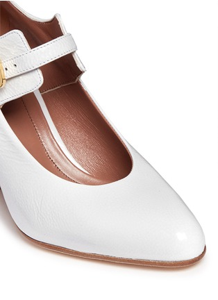 Detail View - Click To Enlarge - Marni - Varnished leather Mary Jane pumps
