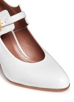 Varnished leather Mary Jane pumps