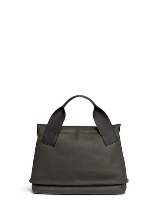 Back View - Click To Enlarge - Marni - 'City Pod' pebbled leather bag