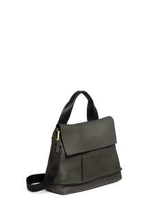 Marni'City Pod' pebbled leather bag