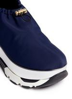 Tech fabric patent platform sneakers