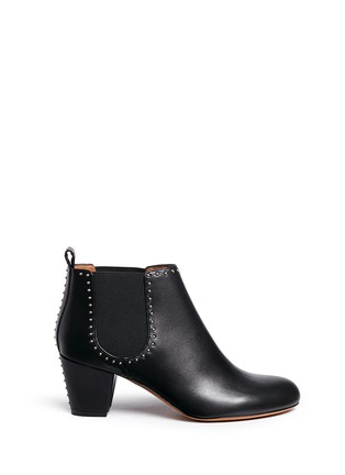 Main View - Click To Enlarge - Givenchy - Stud border leather Chelsea boots