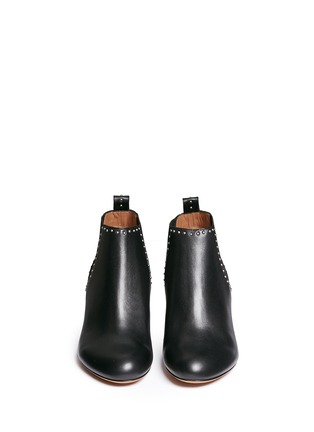Figure View - Click To Enlarge - Givenchy - Stud border leather Chelsea boots