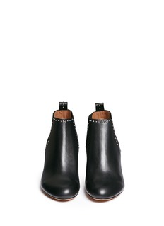 GIVENCHY Stud border leather Chelsea boots