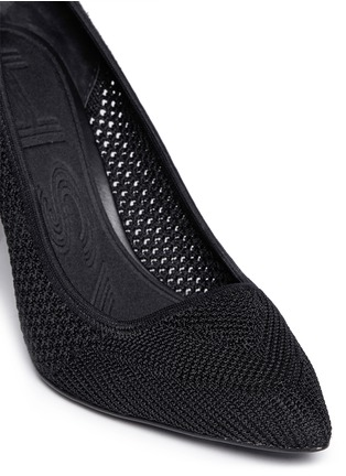 Detail View - Click To Enlarge - Ash - 'Cyrus' eyelet knit pumps