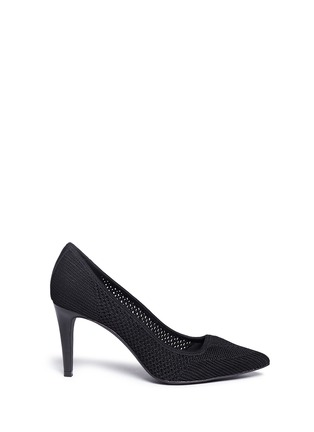 Main View - Click To Enlarge - Ash - 'Cyrus' eyelet knit pumps