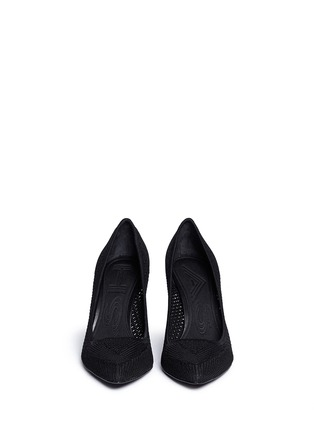 Figure View - Click To Enlarge - Ash - 'Cyrus' eyelet knit pumps