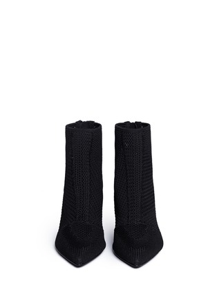 Figure View - Click To Enlarge - Ash - 'Dream' mix knit ankle boots