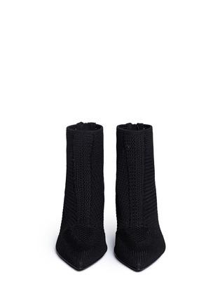 Ash-'Dream' mix knit ankle boots