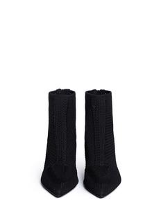 ASH'Dream' mix knit ankle boots