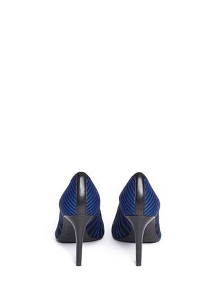 背面 - 点击放大 - ASH - CYRUS几何线条针织尖头高跟鞋