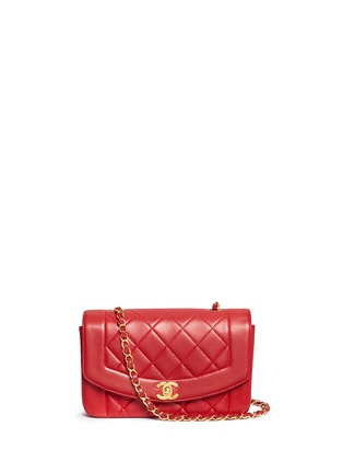 Main View - Click To Enlarge - Vintage Chanel - Classic quilted leather flap bag