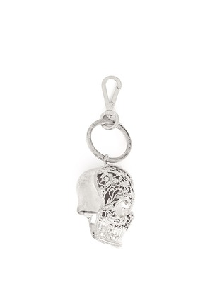 Main View - Click To Enlarge - Alexander McQueen - Filigree skull keyring