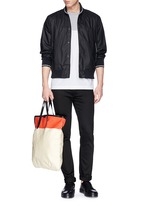'Tracker' cotton twill bomber jacket