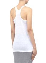 Linen-silk tank top