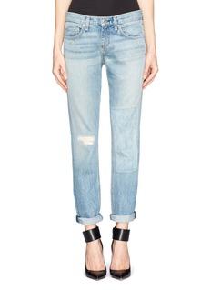 RAG & BONE/JEANPatchwork boyfriend jeans