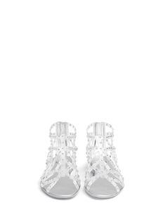 STUART WEITZMANRhinestone embellished jelly sandals