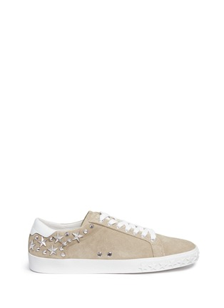 Main View - Click To Enlarge - Ash - 'Dazed' star stud suede sneakers