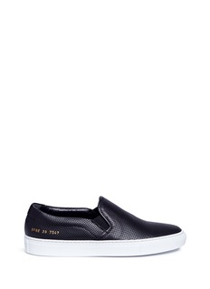 Common Projects Perforated leather slip-ons