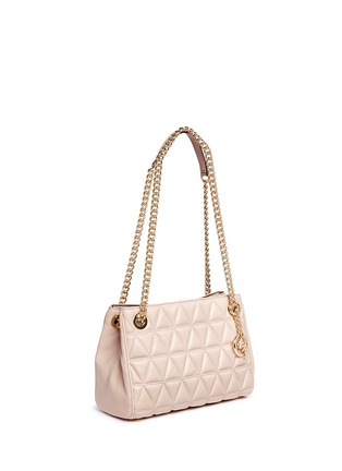 Detail View - Click To Enlarge - Michael Kors - 'Scarlett' medium quilted leather chain satchel
