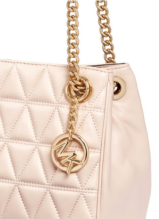 - Michael Kors - 'Scarlett' medium quilted leather chain satchel