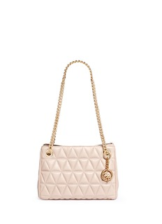 Michael Kors 'Scarlett' medium quilted leather chain satchel