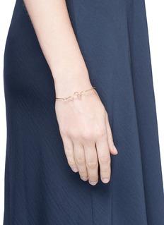 JACQUELINE RABUNx Studiomama 'A Line of Love' 18k yellow gold bracelet