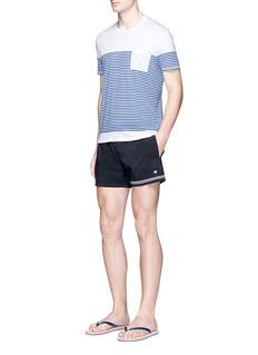 DANWARDStripe cotton jersey T-shirt