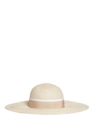 Main View - Click To Enlarge - Maison Michel - 'Blanche' straw capeline hat