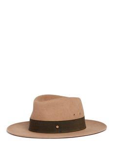 Maison Michel'Thadee' rabbit furfelt fedora hat