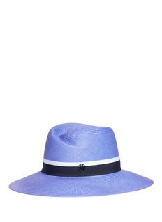 Maison Michel'Virginie' Panama straw fedora hat