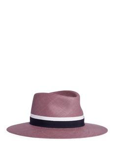 Maison Michel'Charles' swirl straw Panama hat