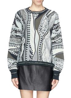 RAG & BONEx COOGI contrast knit sweater