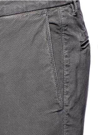 Detail View - Click To Enlarge - Incotex - Slim fit cotton pants