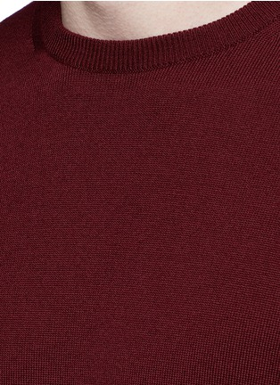 Detail View - Click To Enlarge - Incotex - Flexwool sweater