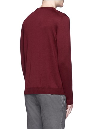 Back View - Click To Enlarge - Incotex - Flexwool sweater