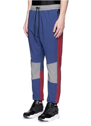 正面 -点击放大 - DYNE - 拼色防水运动裤