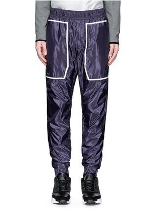 首图 - 点击放大 - DYNE - 反光拼贴防水运动裤