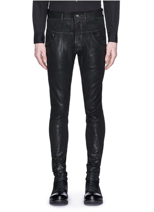 首图 - 点击放大 - THE VIRIDI-ANNE - 涂层修身长裤