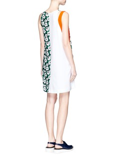 STELLA MCCARTNEY 'Odile' poppy print crepe dress