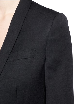 Detail View - Click To Enlarge - Stella McCartney - 'Isla' shawl lapel wool blazer