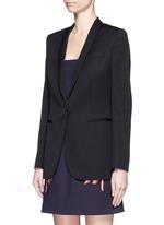 'Isla' shawl lapel wool blazer