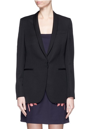 Main View - Click To Enlarge - Stella McCartney - 'Isla' shawl lapel wool blazer