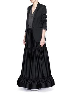 STELLA MCCARTNEYTiered parachute silk maxi skirt