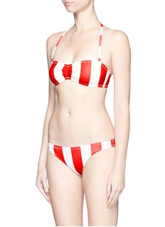 SOLID & STRIPED 'The Chloe' stripe bikini bottom