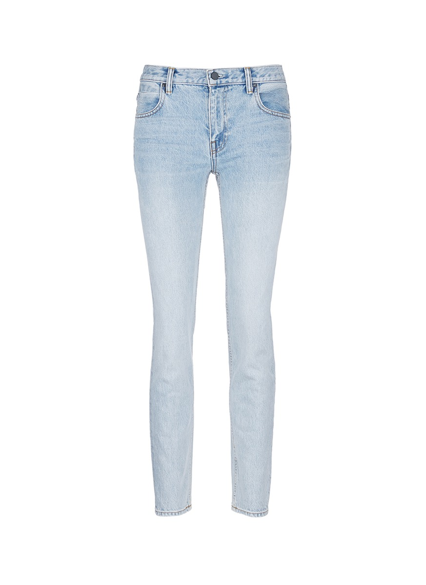 alexander wang female 201920 wang 002 washed tapered jeans