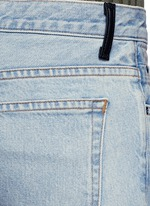 'Trap' cropped boot leg jeans