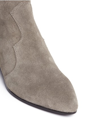 Detail View - Click To Enlarge - Ash - 'Hurrican' suede cowboy ankle boots