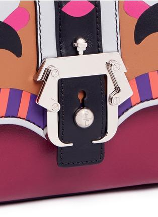 PAULA CADEMARTORI-'Dun Dun' mini colourblock leather satchel
