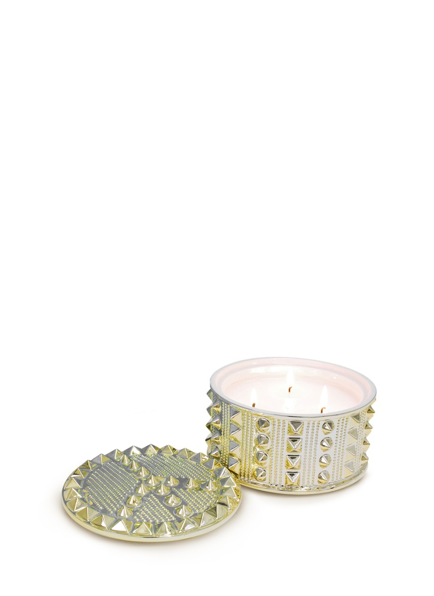Peace stud scented candle by Jonathan Adler